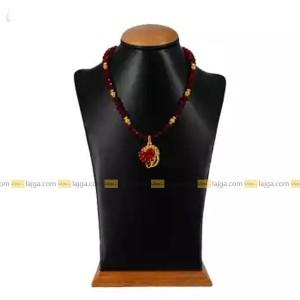 Golden Rose Pendant For Women