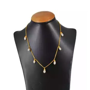 Lajga Pearls Chain Necklace For Women
