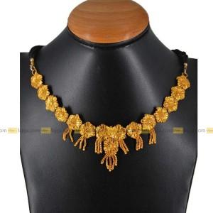 Lajga Flower Garland Haar Necklace
