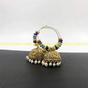 Lajga Oxide/Multi- color Earring For women Handmade item Materials: Aluminum Trendy/stylish