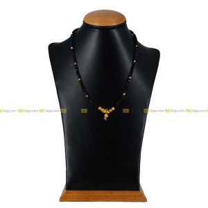 Crystal Golden Ball Necklace For Women